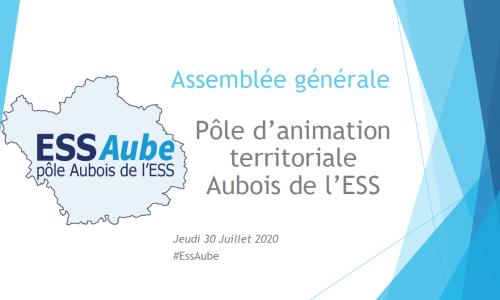 assemblée générale 2020 Pôle Aubois de l'ESS