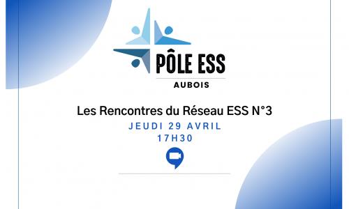 Logo Pôle Aubois de l'ESS rencontre du réseau ess n°3